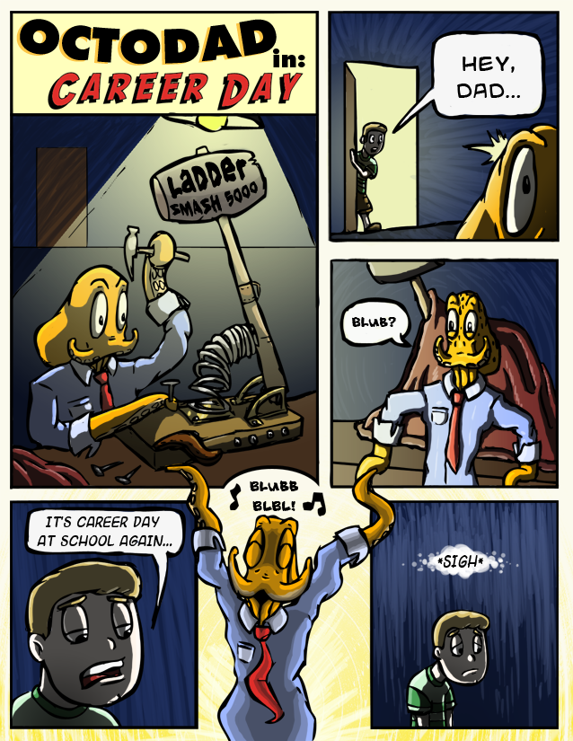 comic octodad page 4